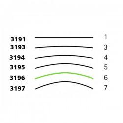 Goiva de desbastar padrão Tyrolise perfil 6
