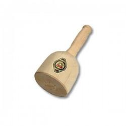 Maço de madeira torneado