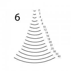 Goiva curvada perfil 6