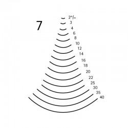Goiva curvada perfil 7
