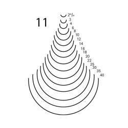 Goiva curvada perfil 11